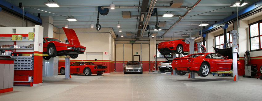 Team rosso monza for Officina garage indipendente